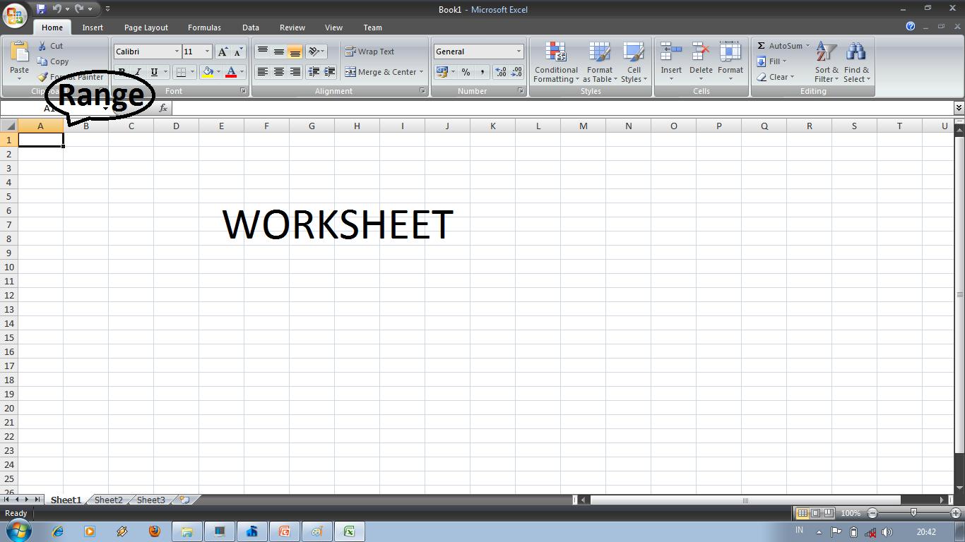 Membuka Workbook Dan Worksheet Baru