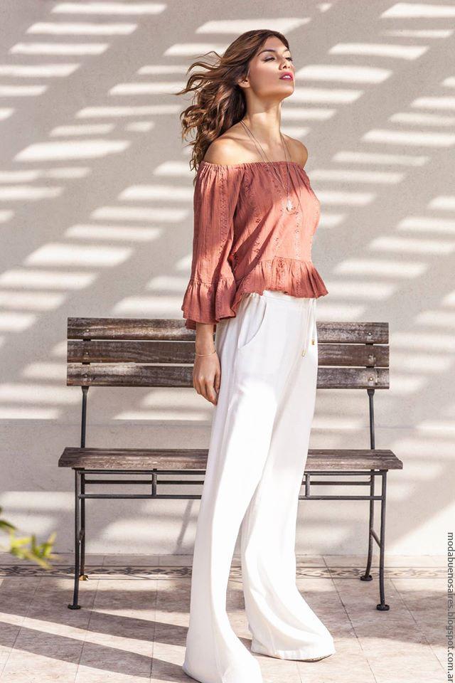 Moda 2017 blusas. Activity primavera verano 2017 moda urbana en ropa de mujer verano 2017.