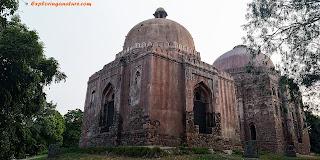 Dadi - Poti's Tomb at Hauz Khash