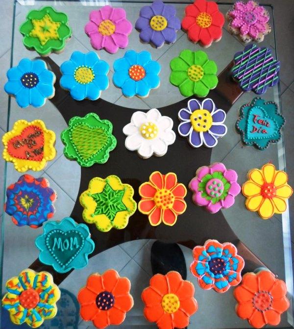 Dulces encantados regalitos comestibles galletas para el for Decoracion para pared dia de la madre