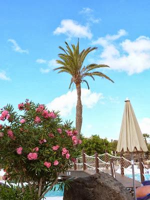 Poolanlage im H10 Hotel Lanzarote Gardens Familienhotel