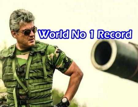 Vivegam Movie Teaser World No 1 Record
