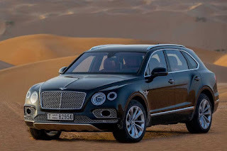 Bentley Bentayga Falconry by Mulliner (2017) Front Side