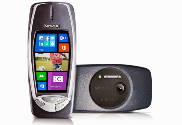 Nokia 3310 PureView 41 MP, chạy Windows Phone