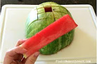 Make Watermelon Sticks - perfect for kids and parties