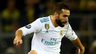Sport: Real Madrid's Dani Carvajal ruled out 'indefinitely' with heart problem