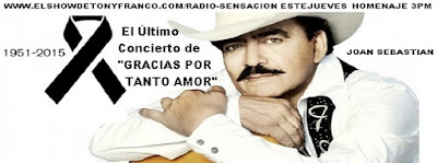 JOAN SEBASTIAN SPECIAL PROGRAM