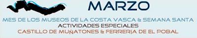 El Pobal celebra en marzo el mes de los Museos de la Costa Vasca con varias de actividades