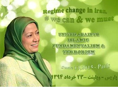 Join us at the gathering on june 13 for freedom and democracy in Iran . Support Maryam Rajavi .