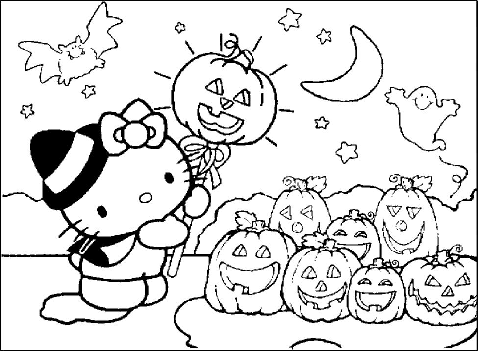 Desenhos Para Colorir Sobre Halloween Mundinho Da Crianca