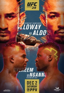 Review of UFC 218 pay-per-view Holloway vs Aldo