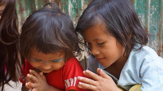 Enfants du programme Shanty Town Spirit