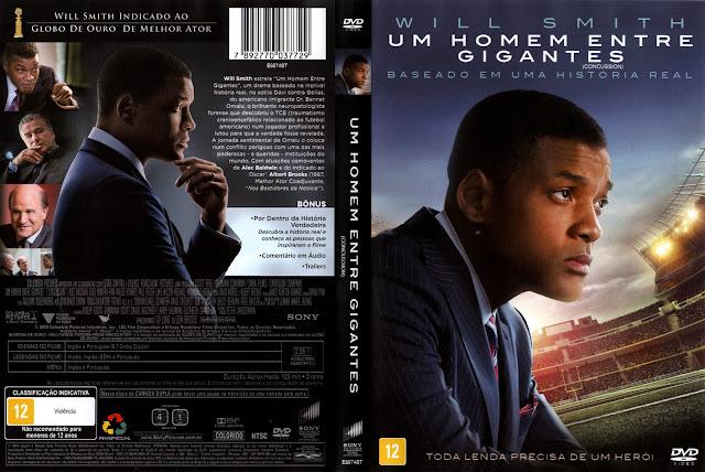 Capa DVD Um Homem Entre Gigantes