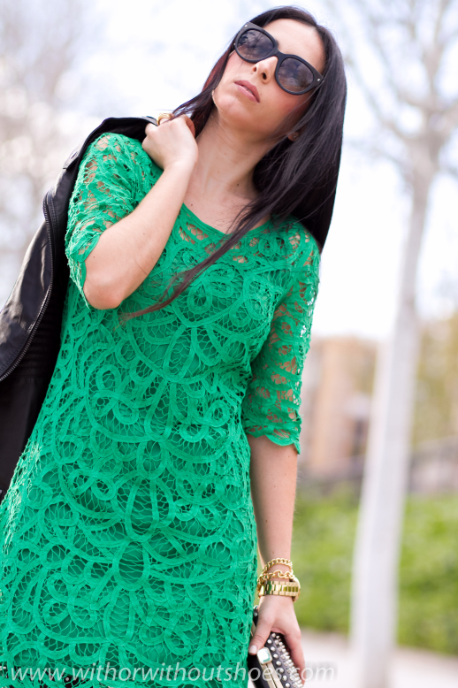 Emerald Crochet Dress With Or Without Shoes Blog
