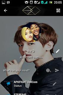 Kumpulan BBM MOD Tema Member EXO Terbaru v.3.0.0.18 Apk Terbaru