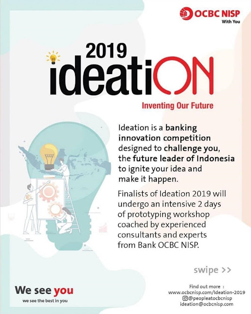 Lomba Video Inovasi Banking OCBC NISP Ideation 2019 Umum