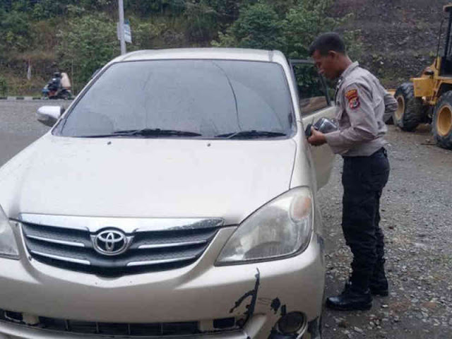 Kecelakaan Lalu Lintas di Sentani Timur, Pemilik Avanza Hitam Melarikan Diri