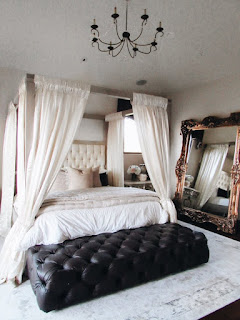 Carpets and Fabrics - Romantic Bedroom Design