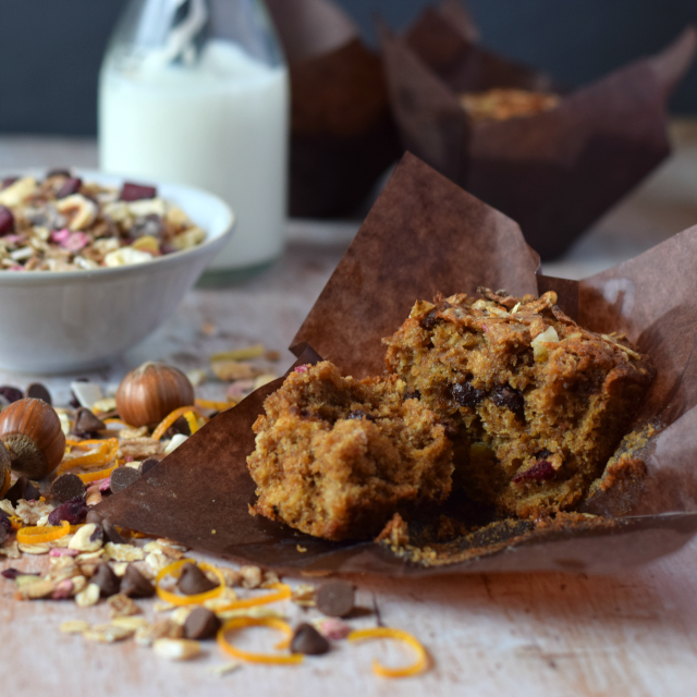 How to make Muesli Muffins