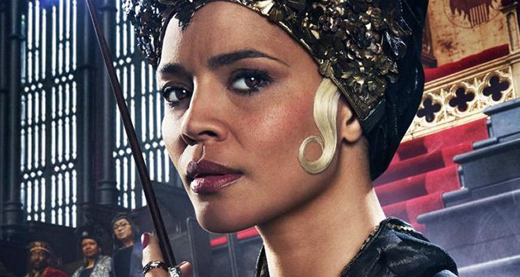 President Seraphina Picquery (played by Carmen Ejogo)