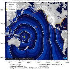 Um violento terremoto