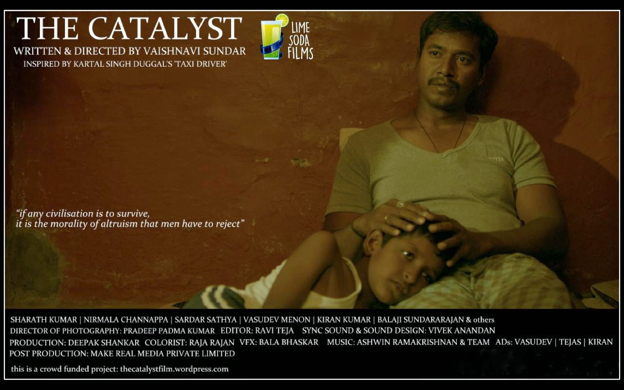 The Catalyst, Movie Poster, A Short Film by Vaishnavi Sundar, Kannada Film
