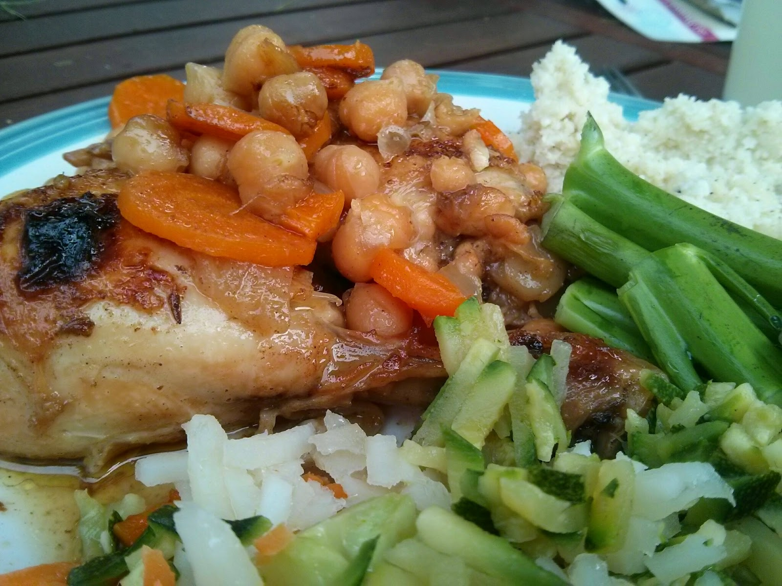 Morocco with a Moroccan Chicken Tagine