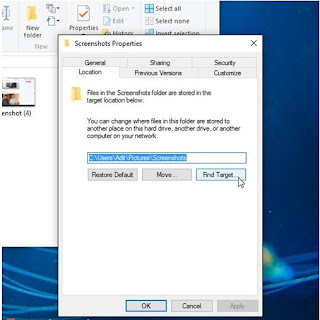 Cara Mengganti Default Folder Screenshot di Windows 10