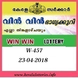 WIN WIN W-457 LOTTERY RESULT