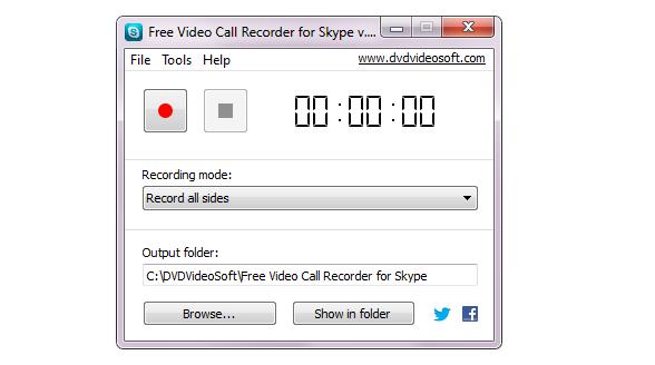 تحميل برنامج تسجيل مكالمات سكايب فيديو Video Call Recorder for Skype