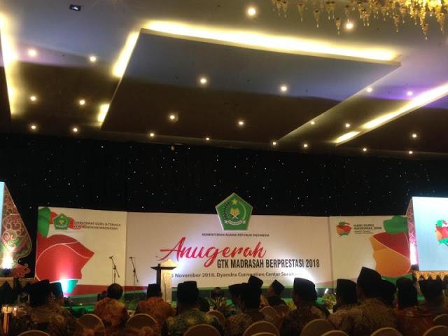 Ribuan Guru Madrasah Ramaikan Puncak HGN 2018