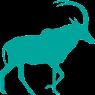 Antilop Vektörel Çizim