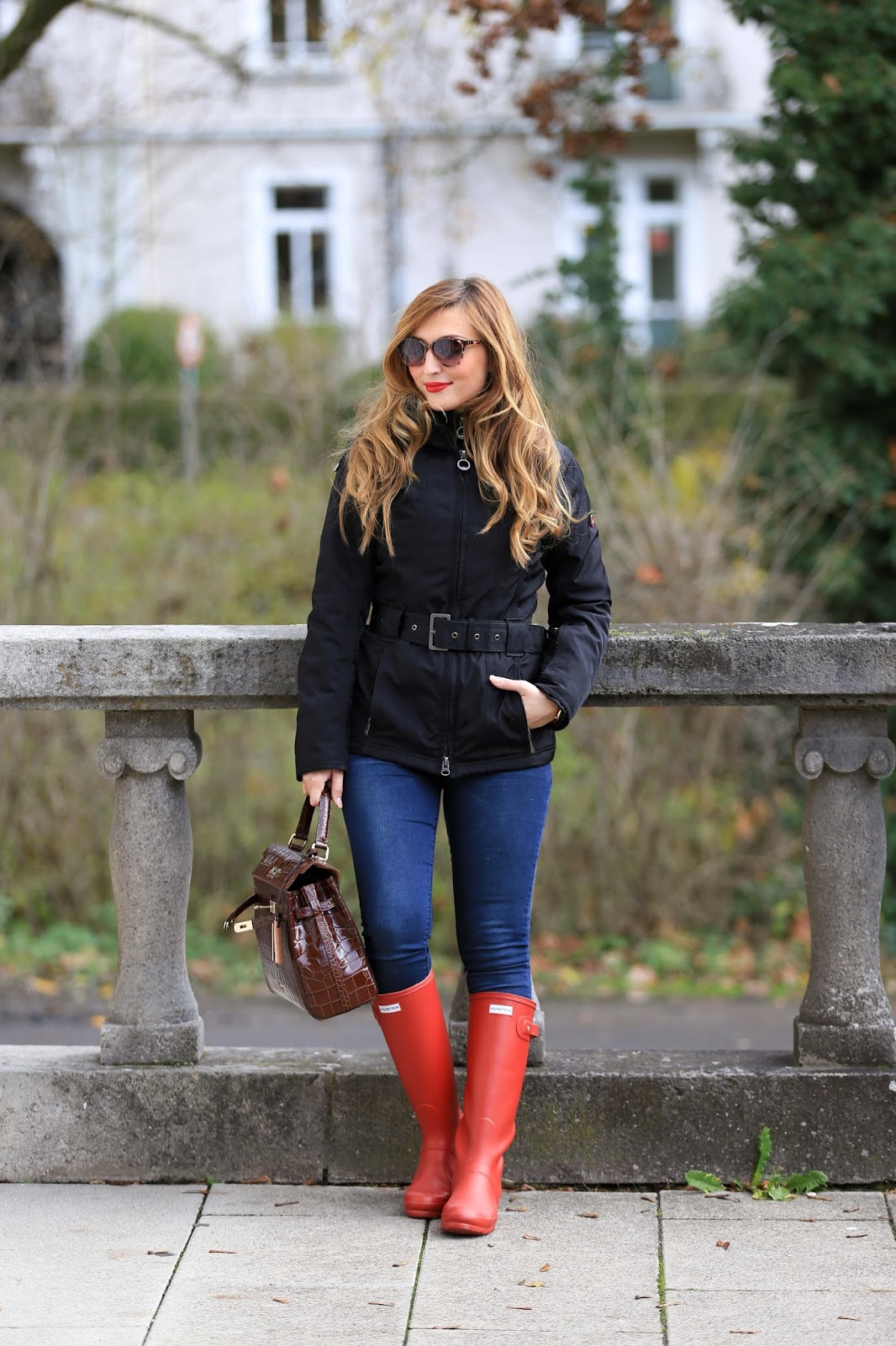 Blogger-aus-Deutschland-Fashionblogger-WELLENSTEYN-Wellensteynjacke- Hunter-Hunter-Gummistiefel