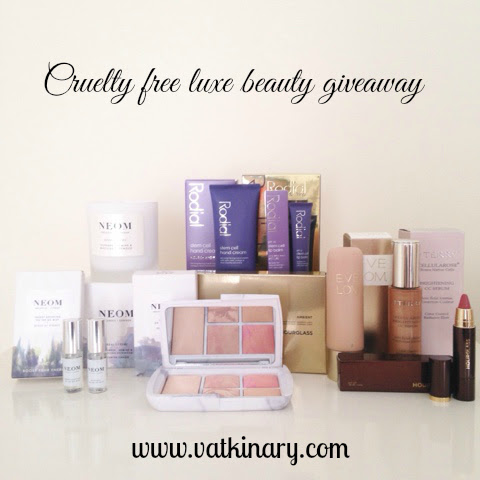 Huge cruelty free, luxury beauty International giveaway!