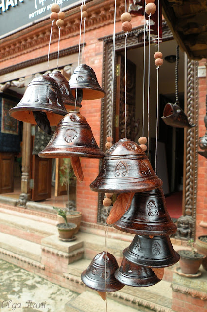 Clay bells made in Bhaktapur, Nepal