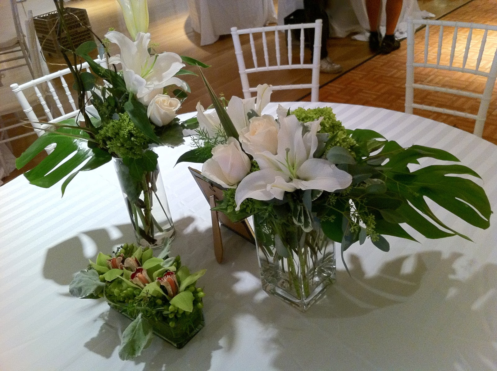 Wedding centerpieces at the PAFA by Stein Your Florist Co The Enchanted Petal  Artistic Wedding Flowers. Flowers For Wedding Reception Centerpieces. Home Design Ideas