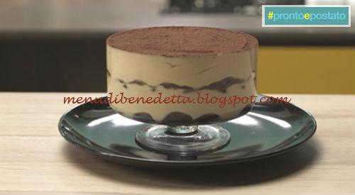 Pronto e postato - Tiramisù allegro ricetta Benedetta Parodi