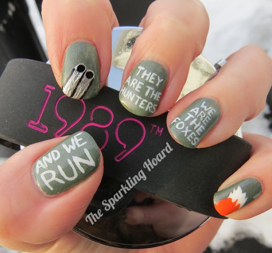 "Song-Inspired Nail Art: Taylor Swift's ""I Know Places"" + Where Have I Been?"