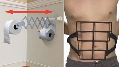 Invenções feitas para preguiçosos