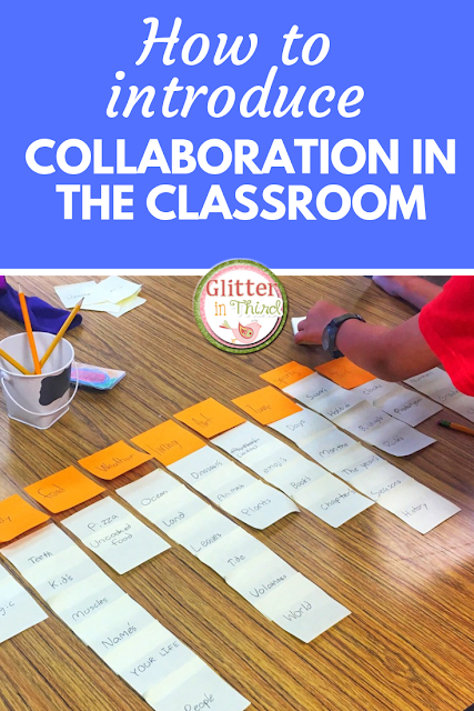 A team-building activity to introduce collaboration in the elementary classroom