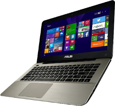 Asus Notebook A455LB slim windows os