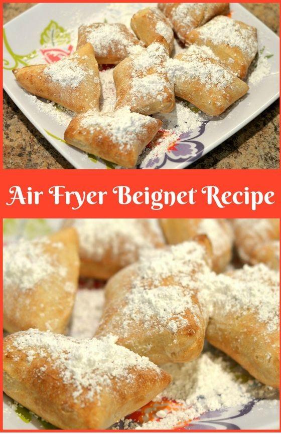 Air Fryer Beignet Recipe