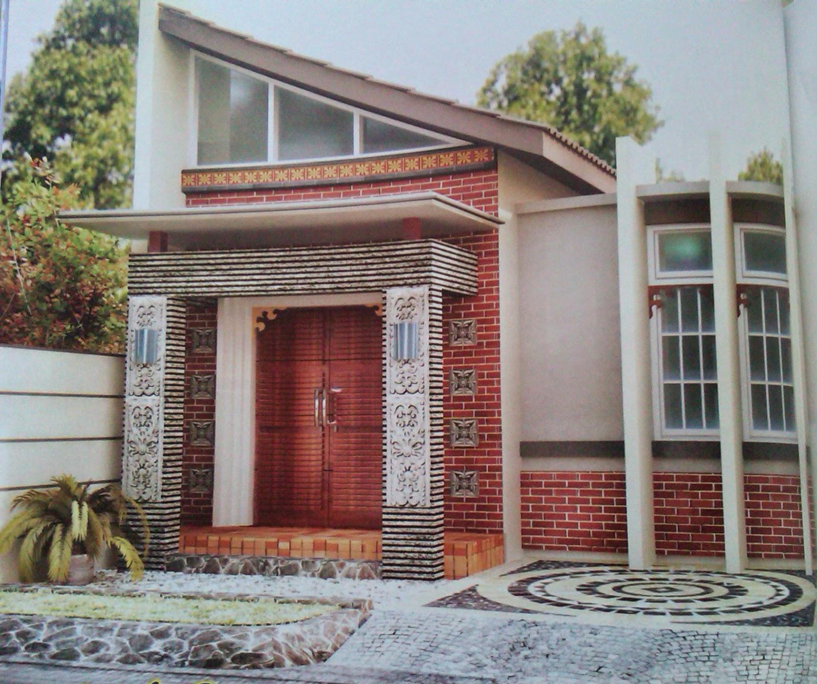 Model Rumah Minimalis Etnik Gambar Desain Rumah Minimalis