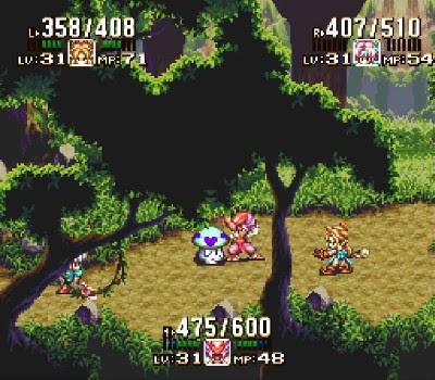 Seiken Densetsu 3 - Forest of Wonders