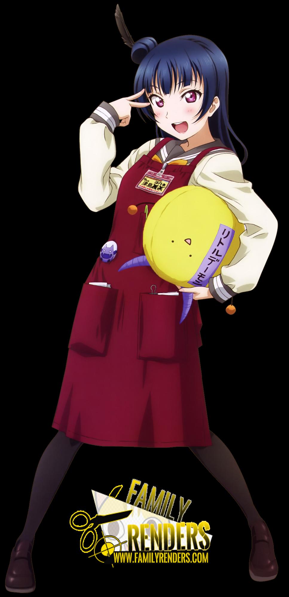 """render  Sunshine!! Yoshiko """"Yohane"""" Tsushima"""