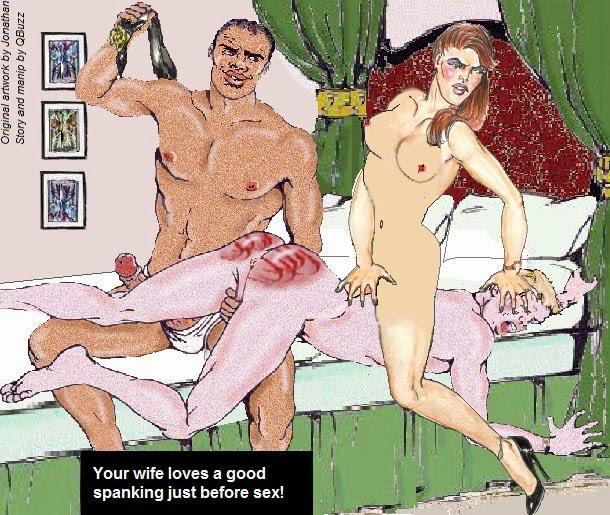 husband being spanked