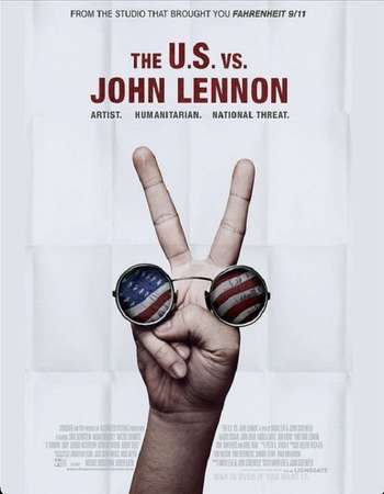 Poster Of The U.S. vs. John Lennon 2006 Hindi Dual Audio  300MB  720p  HEVC Free Download Watch Online 300mb.cc