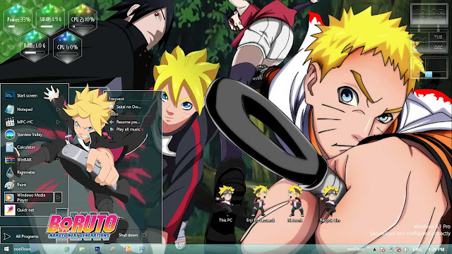 Boruto: Naruto Next Generations Theme Win 8/8.1 by Enji Riz Lazuardi