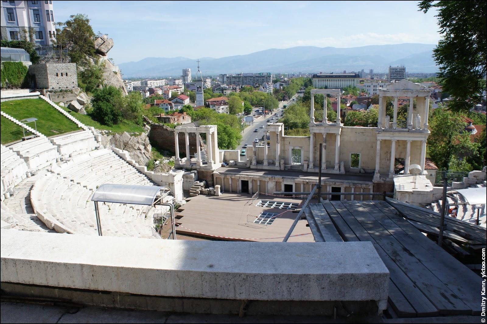 Plovdiv Roman Theatre.