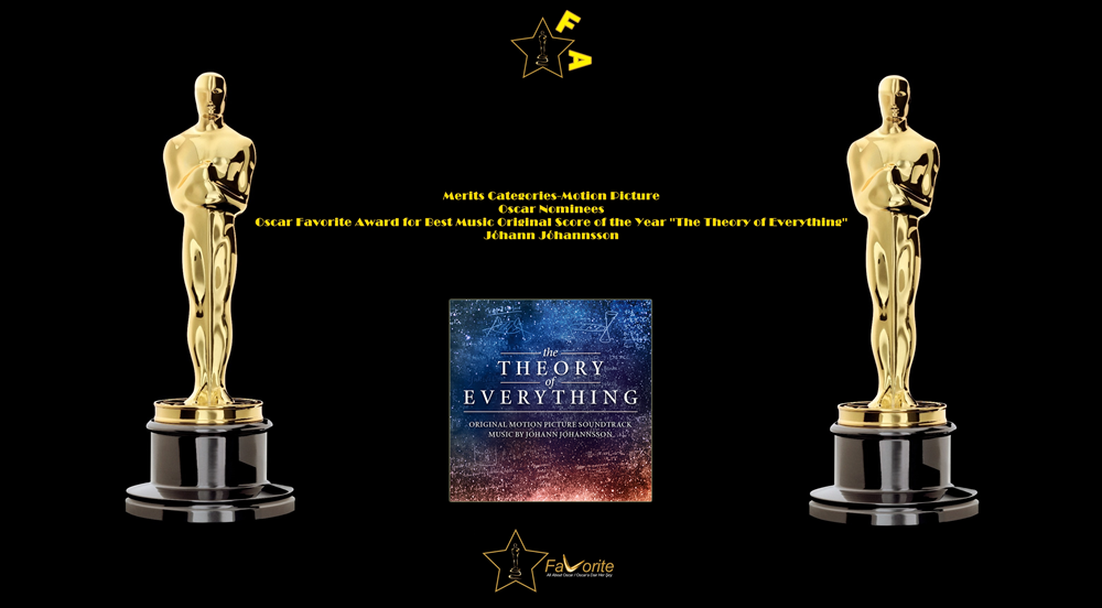oscar favorite best music original score award johann johannsson the theory of everything
